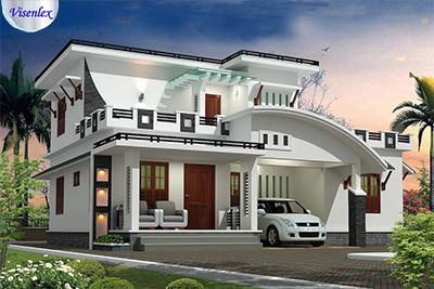 sơn nhà màu trắng sứ sang trọng
