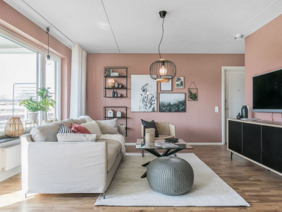 Các màu sơn phối hợp cho phòng khách đẹp, sang chảnh